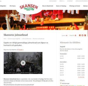 Skansens julmarknad 2016