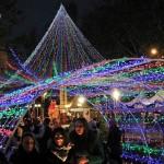 Christmas markets in the Alameda de Hercules, Sevilla. Author and Copyright Las Brujas Eventos