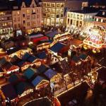 Christmas market in Bonn (Bonner Weihnachtsmarkt), Bonn, Germany. Author Bonner Weihnachtsmarkt. Licensed under the Creative Commons Attribution-Share Alike