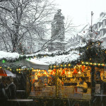 Christmas market in Freiburg (Freiburger Weihnachtsmarkt), Germany. Copyright FWTM-Fotograf Karl-Heinz Raach