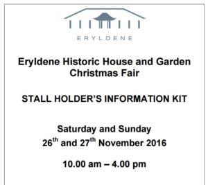 Eryldene's Christmas Fair 2016