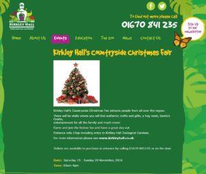 Kirkley Hall's Countryside Christmas Fair 2016