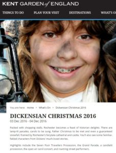 Rochester Dickensian Christmas Festival 2016