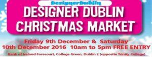 Designer Dublin Christmas Market 2016