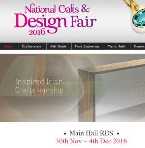 Dublin's National Crafts & Design Fair 2016