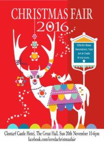 INREDA Christmas Fair in Clontarf Castle Hotel 2016