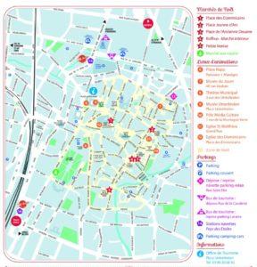 Map Marché de Noël à Colmar