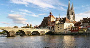 Regensburg, Bavaria, Germany. Author Karsten Dörre. Licensed under the Creative Commons Attribution