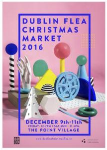 Dublin Flea Christmas Market 2016 @ the Point Village