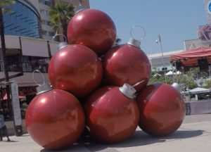 Christmas balls. Author and copyright Marco Ramerini